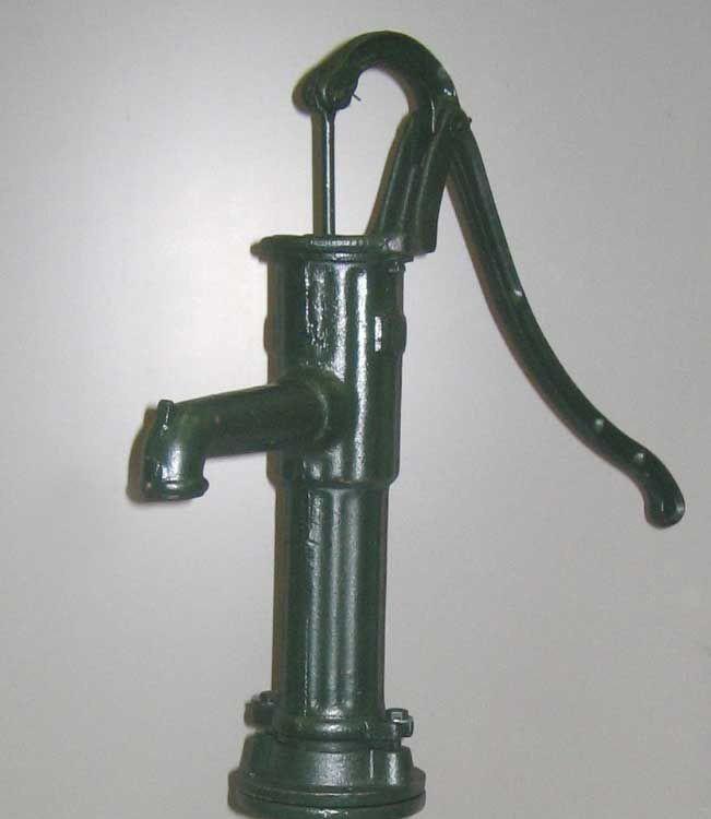 Handschwengelpumpe / Pumpenkörper grün GRAF 356503 Bild 1