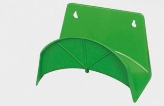 Schlauchhalter / Wandschlauchhalter PVC grün Bild 1