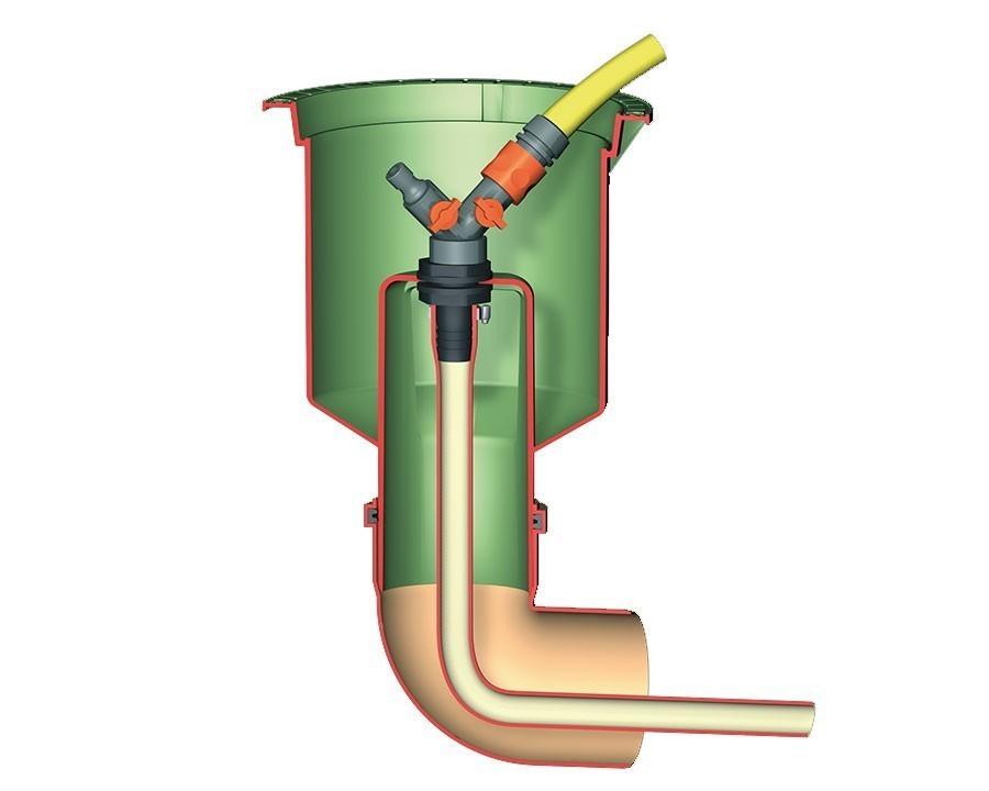 Wasseranschlussbox Extern GRAF GARANTIA 202060 Bild 1