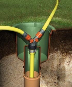 Wasseranschlussbox Extern GRAF GARANTIA 202060 Bild 3