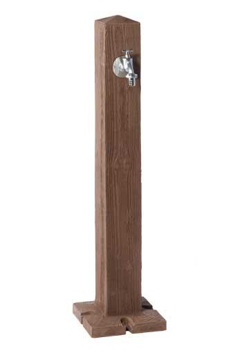 Wasserzapfsäule Wood dunkel Holzoptik GRAF 356030 Bild 1