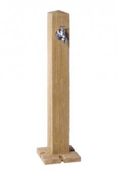 Wasserzapfsäule Wood hell Holzoptik GRAF 356031 Bild 1