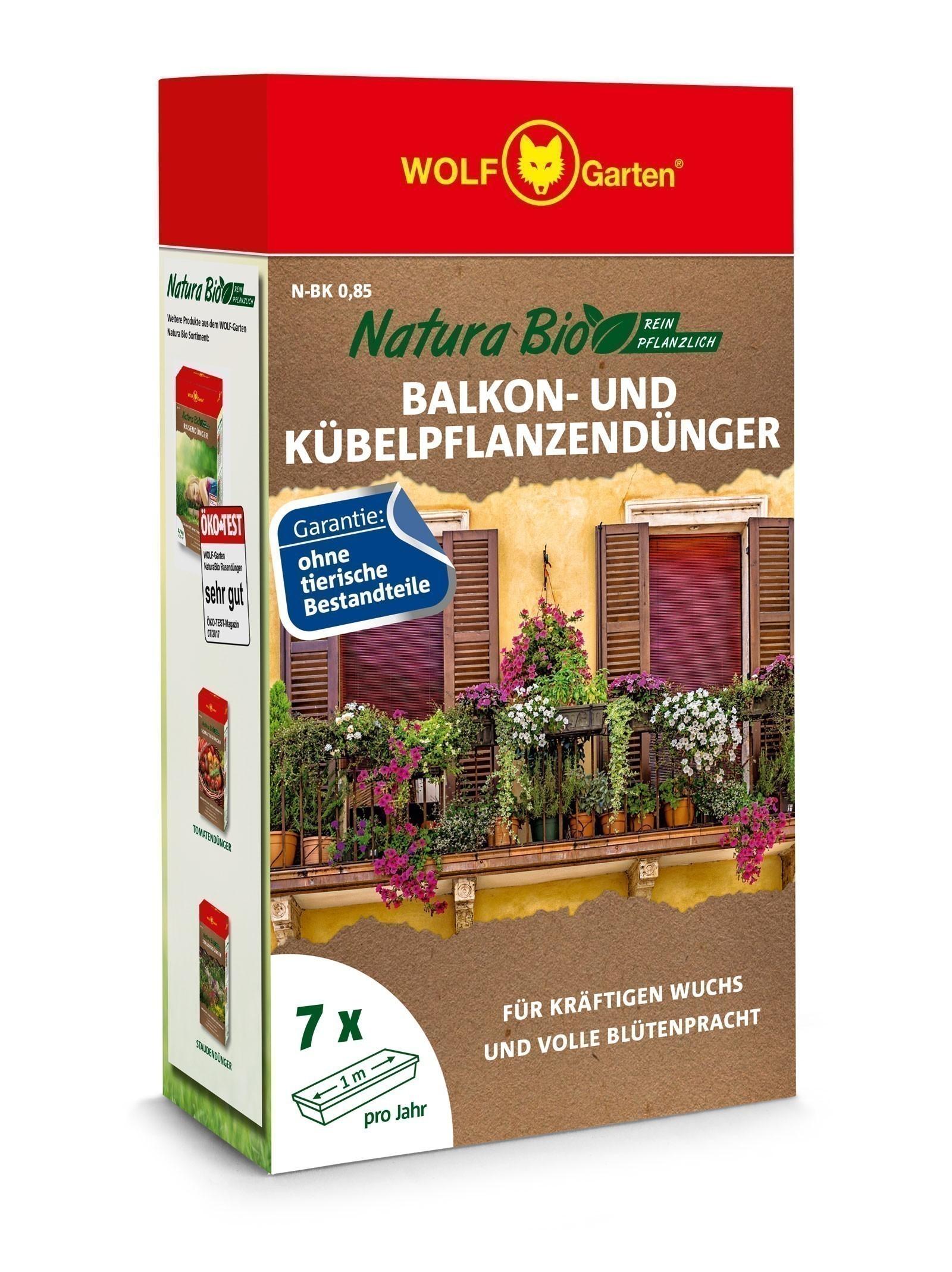 Wolf Garten Natura Bio Balkonkastendünger N-BK 0,85 Bild 1