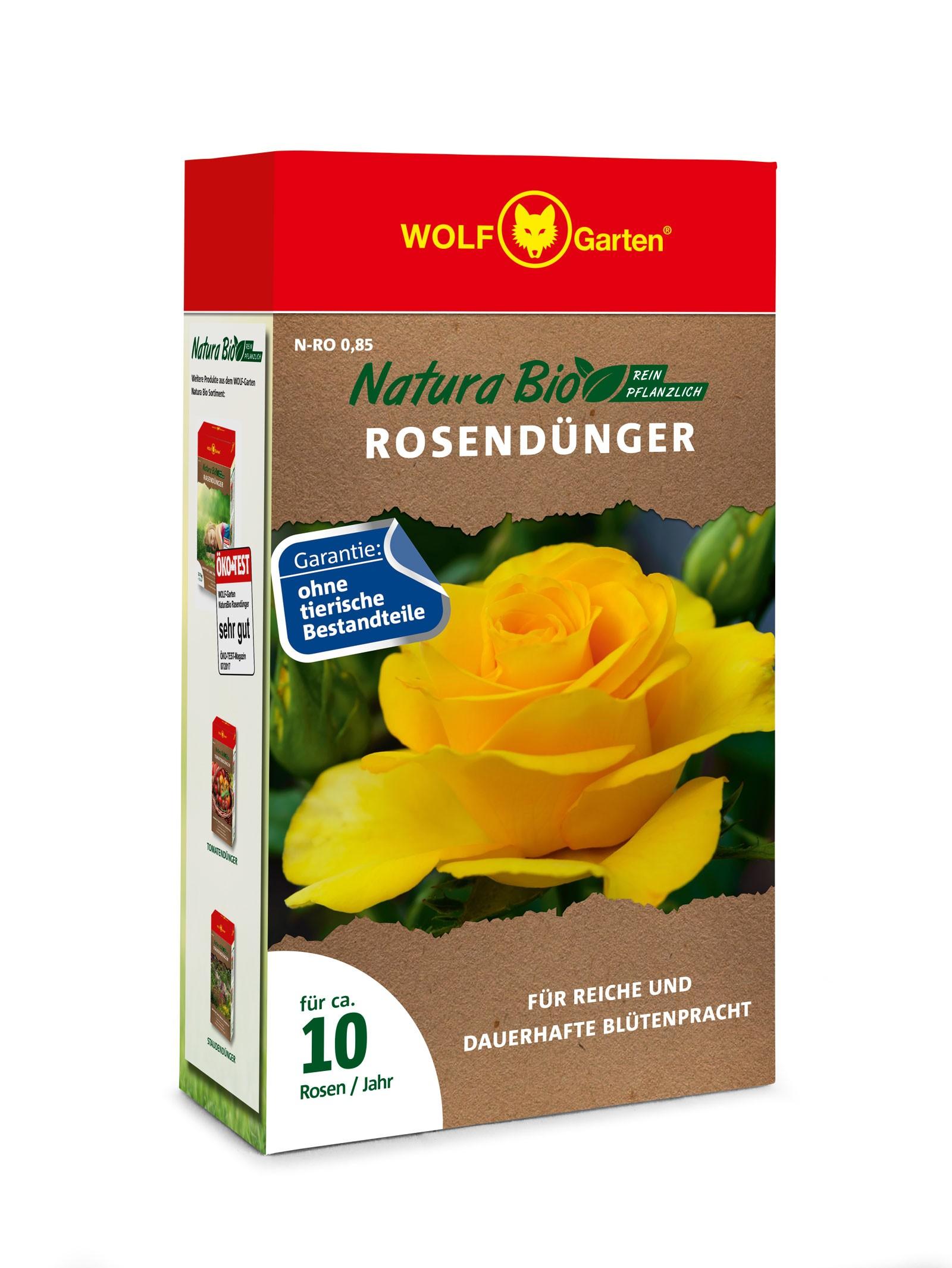 Wolf Garten Natura Bio Rosendünger N-RO 0,85 Bild 1
