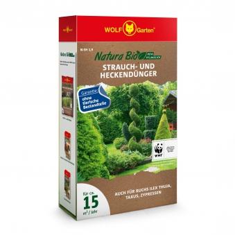Wolf Garten Natura Bio Strauch- und Heckendünger 15m² 1900g Bild 1