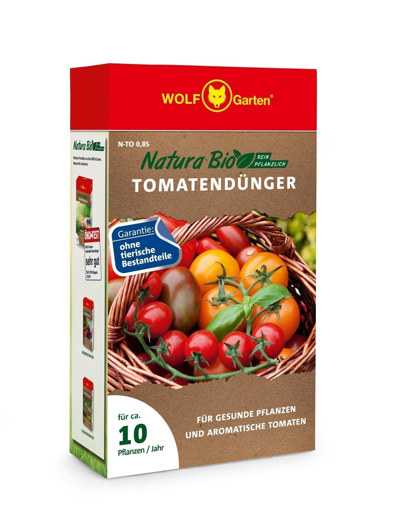 Wolf Garten Natura Bio Tomatendünger N-TO 0,85 für 10 Pflanzen Bild 1