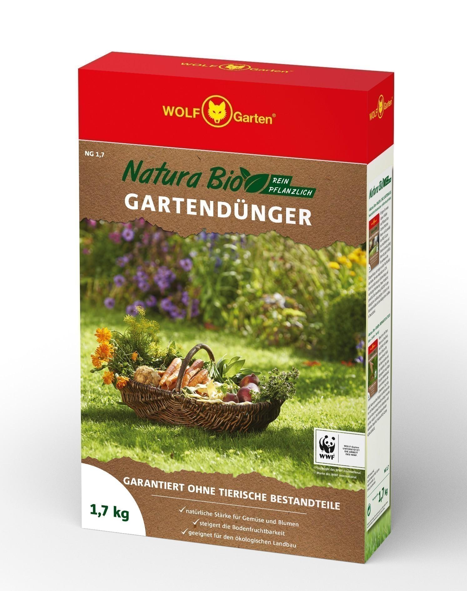 Wolf Garten Natura Bio Gartendünger NG 1,7 für 25 m² Bild 1