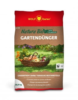 Wolf Garten Natura Bio Gartendünger NG 10,8 für 160 m² Bild 1