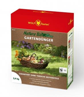 Wolf Garten Natura Bio Gartendünger NG 3,4 für 50 m² Bild 1