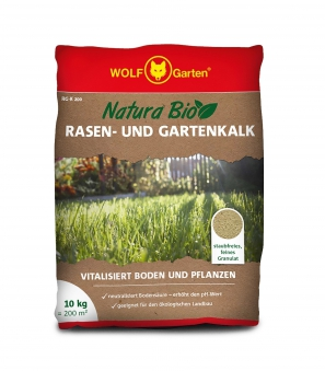 Wolf Garten Natura Bio Rasen- und Gartenkalk RG-K 200 für 200m² Bild 1