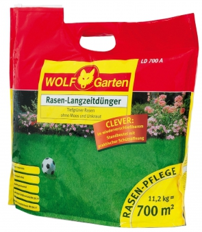 Wolf Garten Rasen Langzeitdünger LD 700 A bis 70 Tage für 700m² Bild 1