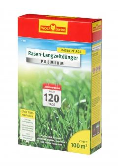 Wolf Garten Rasen Langzeitdünger Premium LE100 bis 120 Tage für 100 m² Bild 1