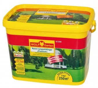 Wolf Garten Rasen Langzeitdünger Premium LE300 bis 120 Tage für 300m² Bild 1