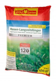 Wolf Garten Rasen Langzeitdünger Premium LE450 für 120 Tage für 450m² Bild 1