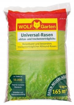 Wolf Garten Rasensamen / Saatgut Mediterraneo LU-TR 165 für 165 m² Bild 1