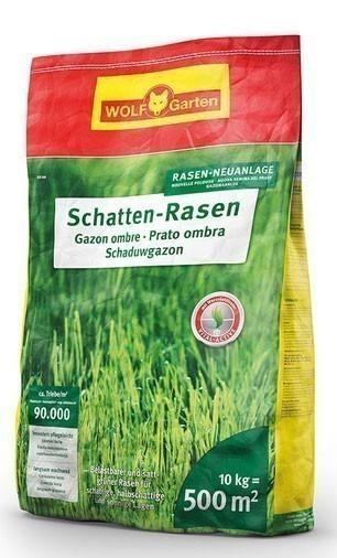 Wolf Garten Rasensamen / Saatgut Schattenrasen SCR500 für 500m² Bild 1