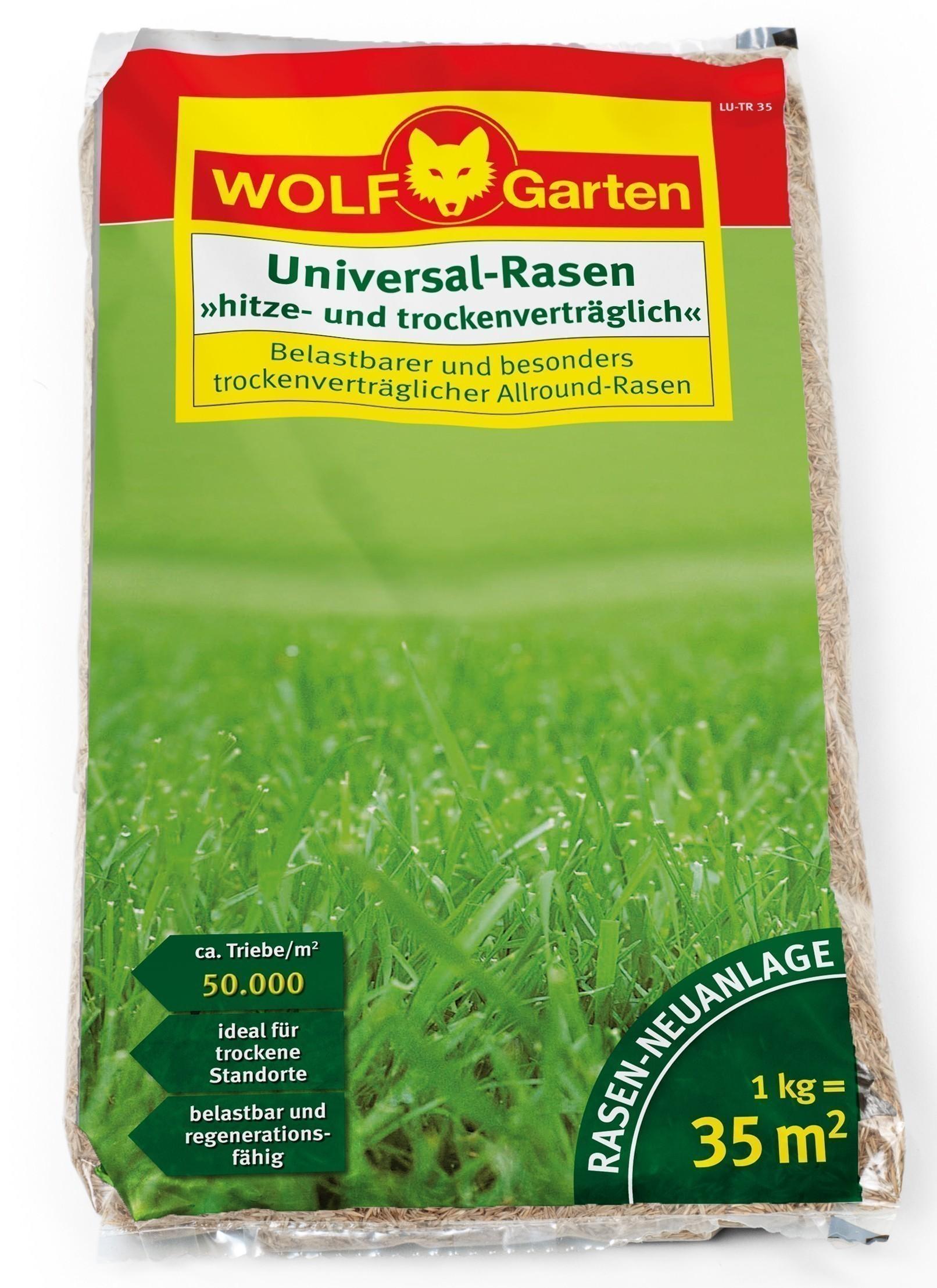 Wolf Garten Rasensamen / Saatgut Universal LU-TR für 35 m² Bild 1