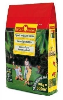 Wolf Garten Rasensamen / Saatgut für Sport-Spiel Rasen LG500 für 500m² Bild 1