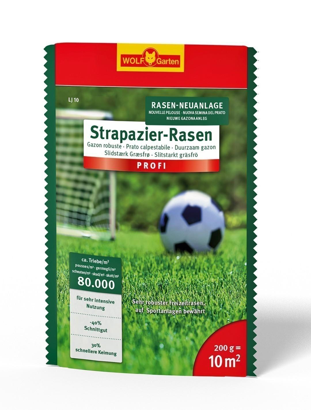 Wolf Garten Strapazier-Rasen Saatgut LJ10 für 10 m² Bild 1