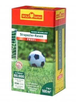 Wolf Garten Strapazier-Rasen Saatgut LJ100 für 100m² Bild 1