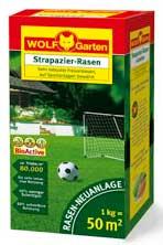 Wolf Garten Strapazier-Rasen Saatgut LJ50 für 50 m² Bild 1
