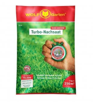 Wolf Garten Turbo Nachsaat LR250 zur Rasen Sanierung für 250m² Bild 1