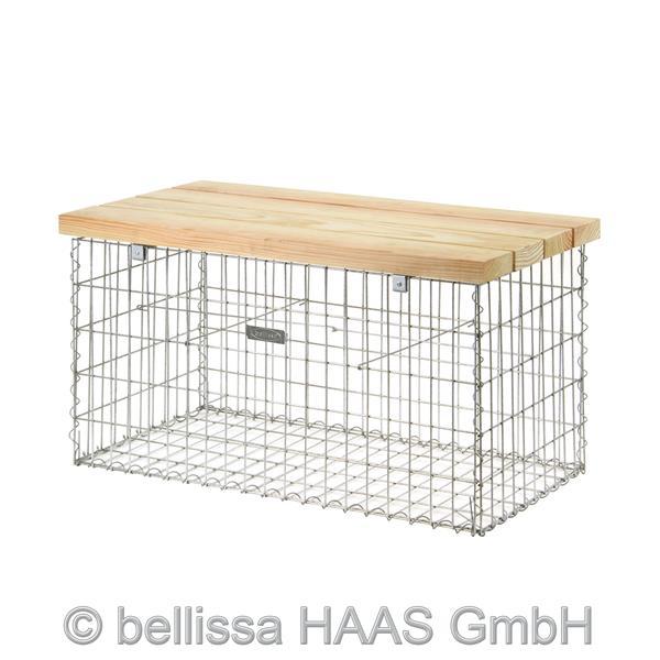gartenbank gabione preisvergleiche erfahrungsberichte und kauf bei nextag. Black Bedroom Furniture Sets. Home Design Ideas